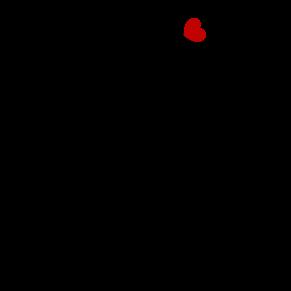 vinilos-decorativos-flores-de-corazon
