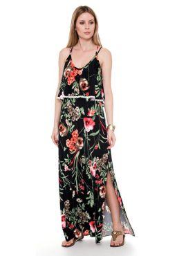 Vestido Longo - Coleção Verão 2017 - Bisô