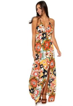 Vestido Longo - Coleção Verão 2017 - Cantão