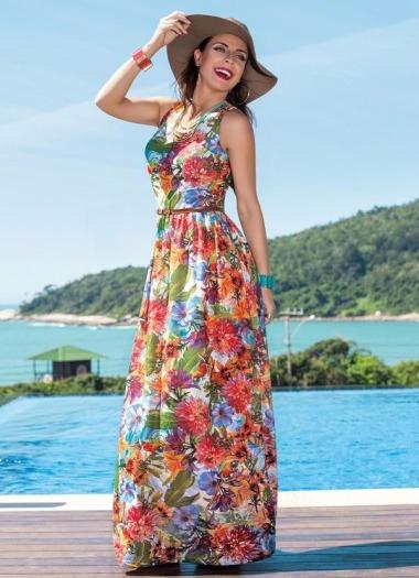 Vestido Longo - Coleção Verão 2017